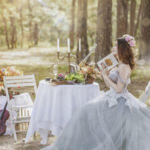 Brautmoden Stoffe