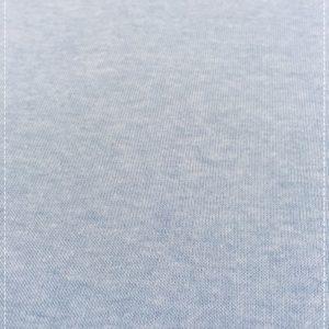 Sweatshirtstoff in eisblau