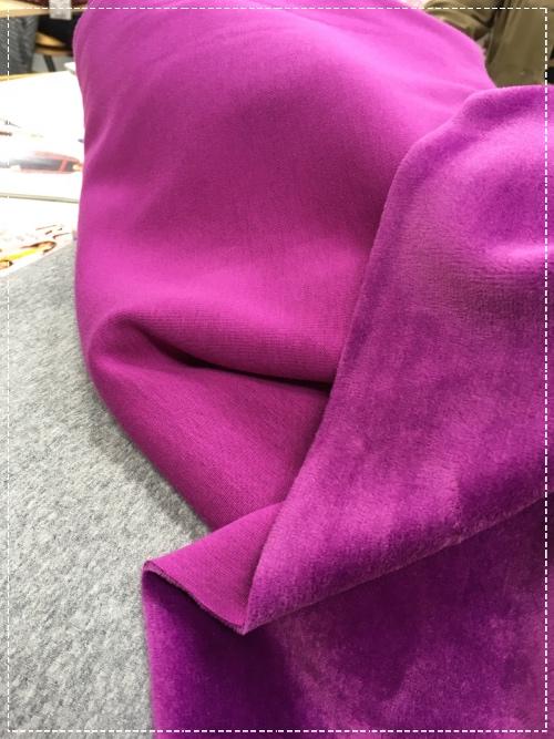 ein neuer Sweatshirtstoff in vielen Farben, Alpenfleece