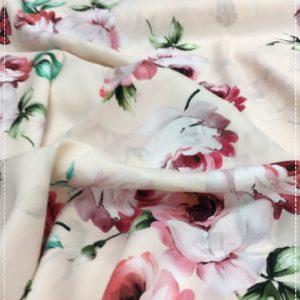 bedruckter Baumwollstretch, neu aus Italien
